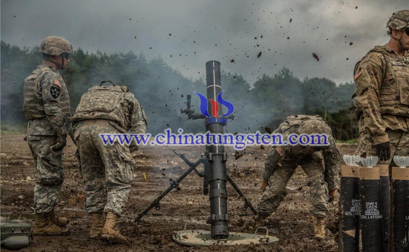 120mm mortars of United States Army image