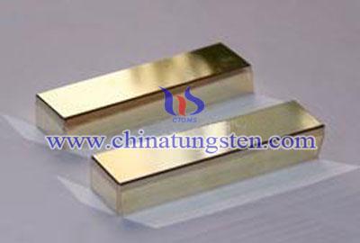 tungsten alloy fake gold bar