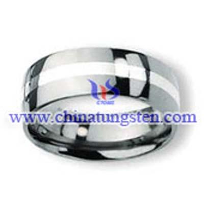 鑲嵌鎢鋼戒指