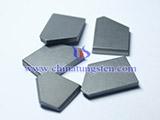 硬质合金煤钻片