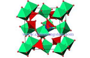 納米級鎢酸鋯空心球分子結構圖