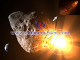 nuclear bomb destroyed asteroid