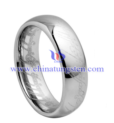 TUR005M - magic tungsten carbide ring for man
