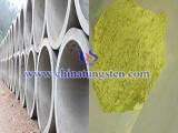 tungsten oxide concrete