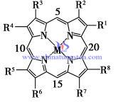 metal porphyrin structure image