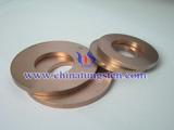钨铜合金环图片