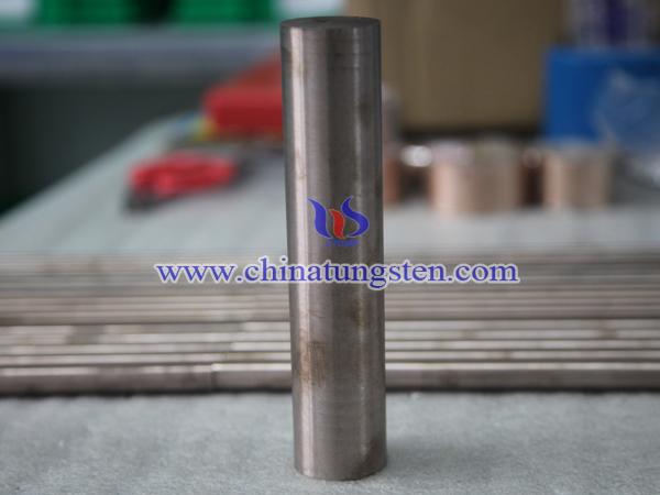 tungsten copper rods picture