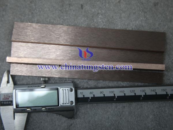 tungsten copper plate piture