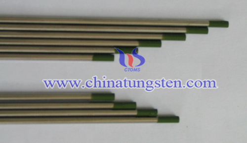 pure tungsten electrode image
