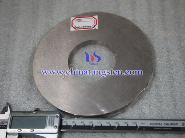 tungsten copper disc electrode picture