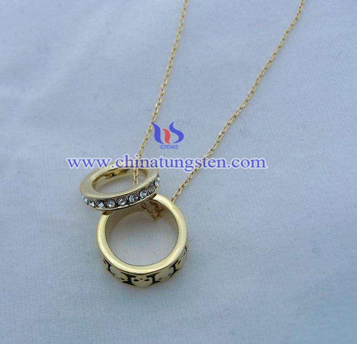 鎢金鍍金首飾