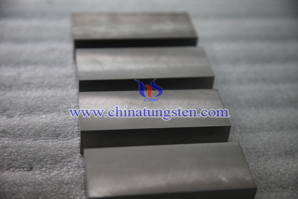 tungsten alloy block image