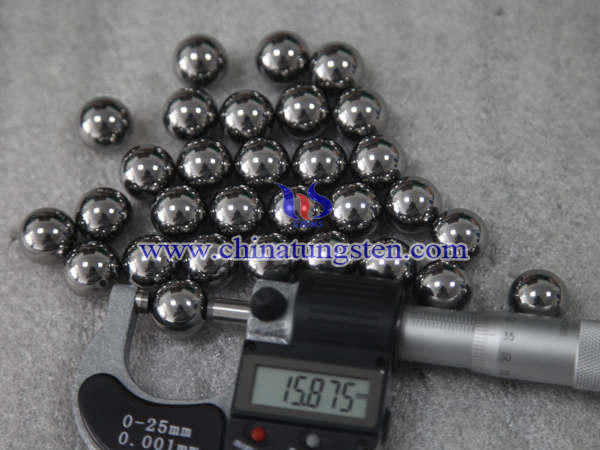 tungsten carbide polished ball picture