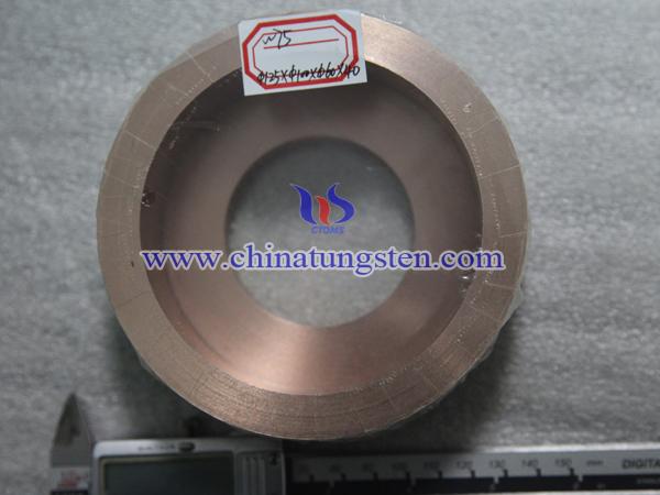 tungsten copper parts picture