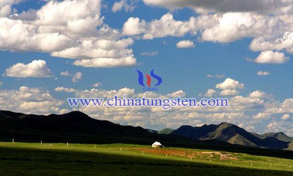 内蒙古东乌珠穆沁旗沙麦钨矿图片