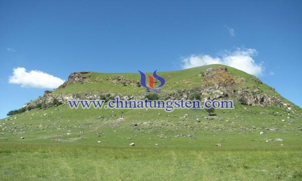 内蒙古克什克腾旗黄岗山锡多金属矿图片