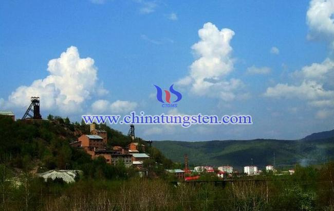 黑龙江省宾县弓棚子铜锌钨矿图片