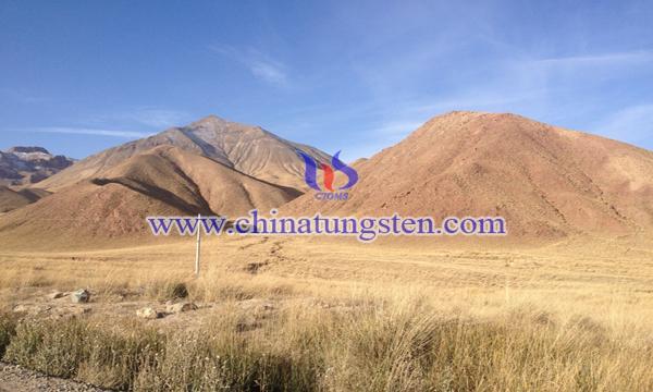 内蒙古额济纳旗七一山钨钼多金属矿图片