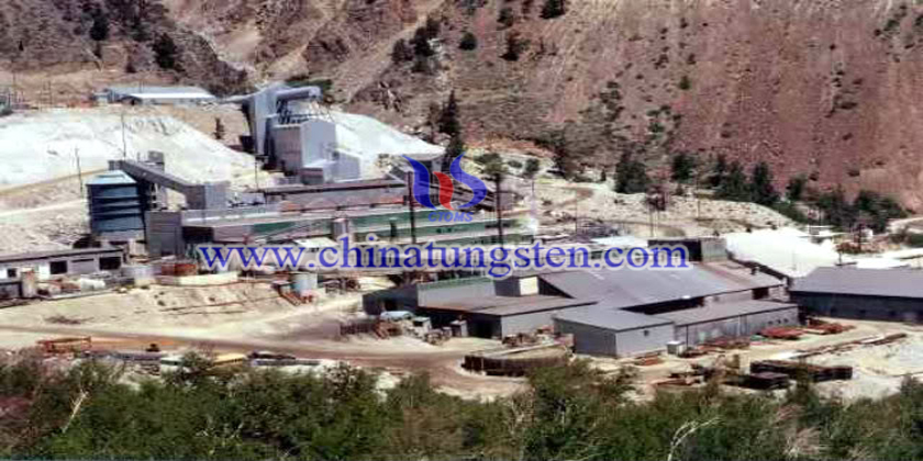 pine creek tungsten mine  photo