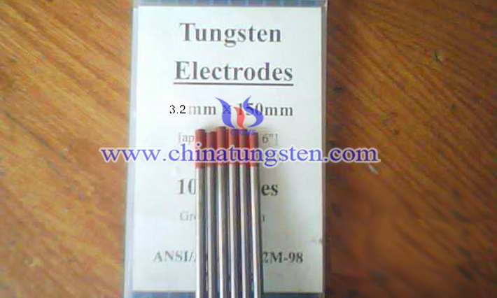 thorium tungsten electrode image