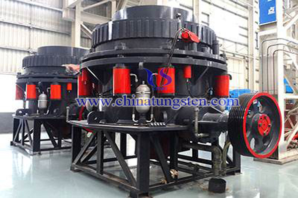 multi cylinder hydraulic cone crusher image