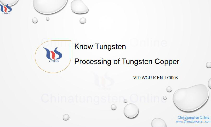tungsten copper picture