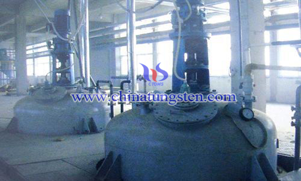 ammonium tungstate solution magnesium carbonate purification phosphorus removal image