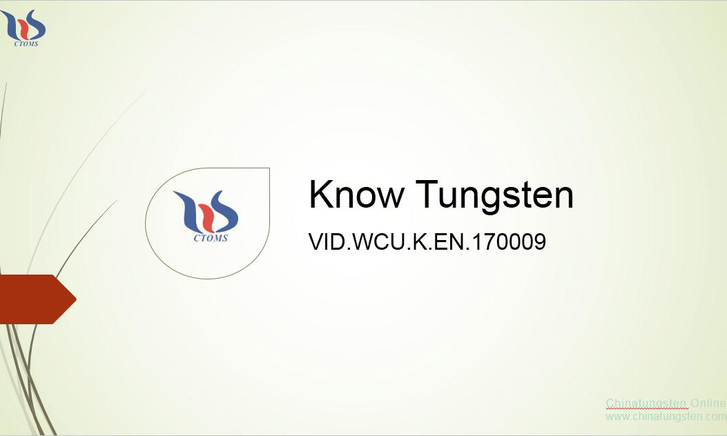 tungsten copper main properties picture