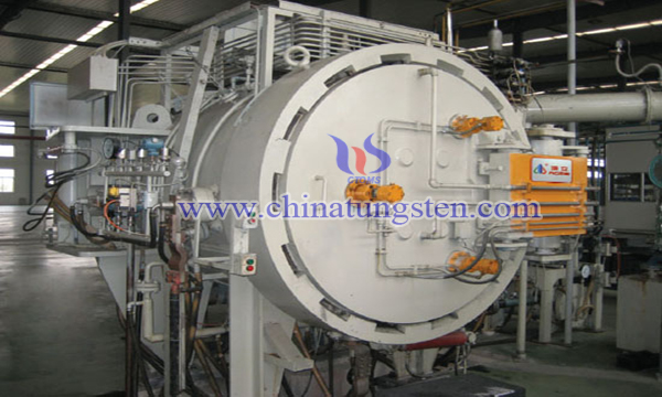 gas recovery cycle system for tungsten alloy sintering image