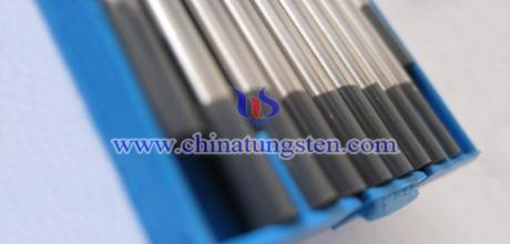 high density rare earth tungsten electrode manufacturing image