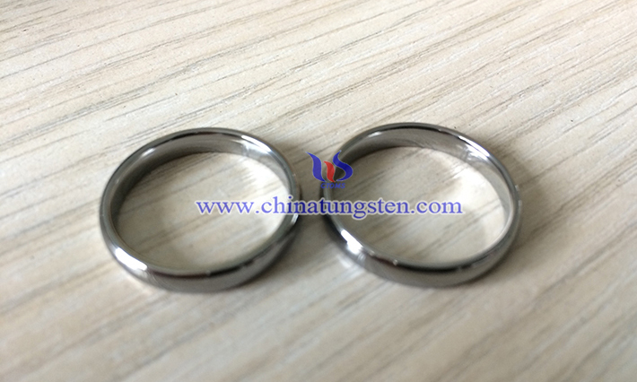 women tungsten carbide ring image