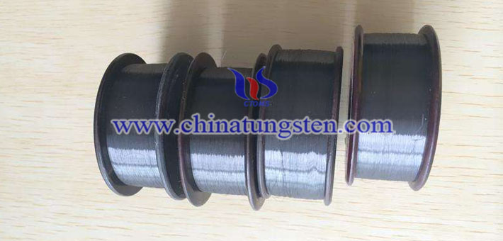 black tungsten wire image