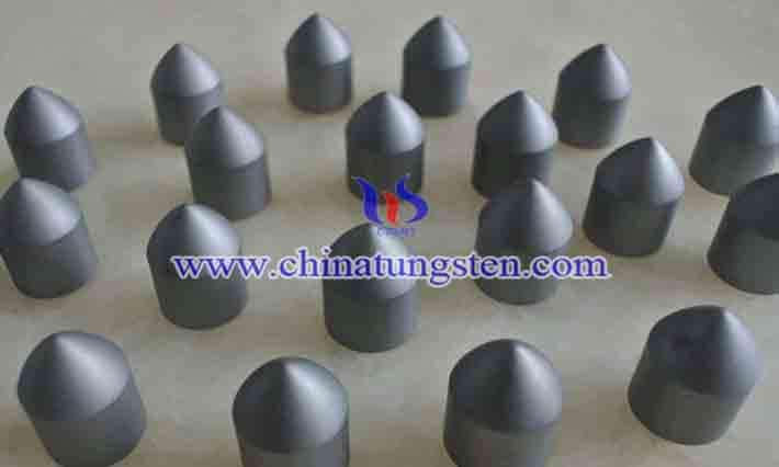 tungsten carbide mining button picture