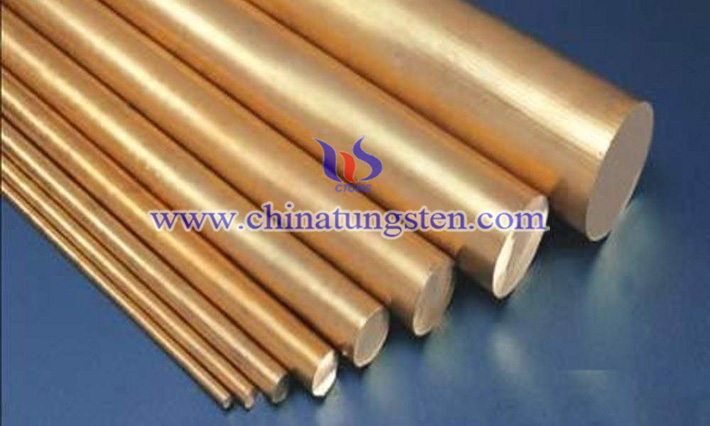 tungsten copper rod image
