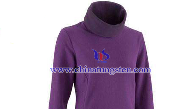 yellow tungsten oxide ladies warm coat picture