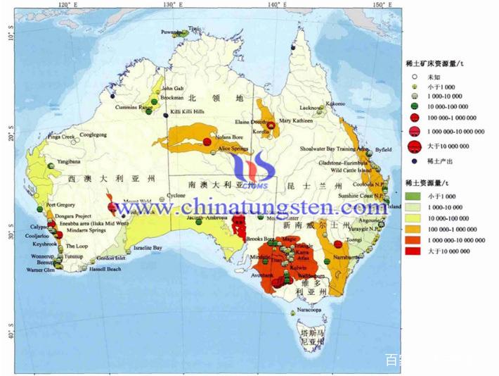 澳大利亚稀土矿床图片