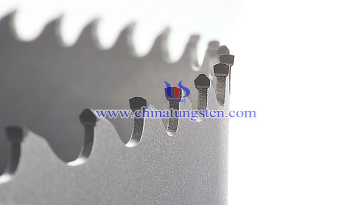 tungsten carbide band saw blade picture