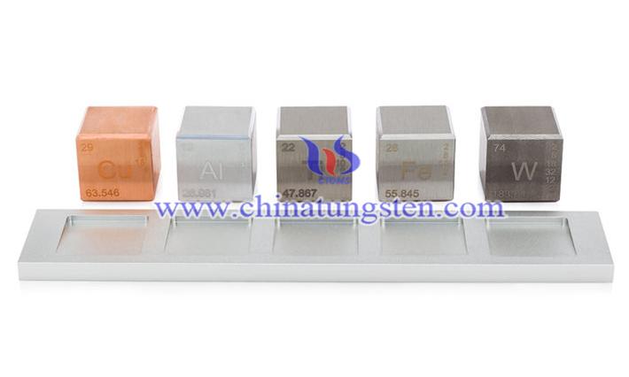 tungsten alloy cube vibrator picture