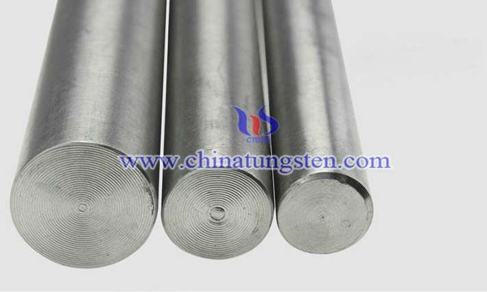 heavy tungsten alloy bar picture