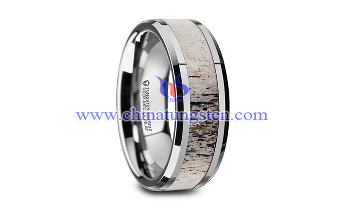 tungsten wedding band picture