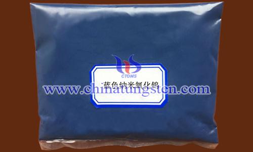 nano blue tungsten oxide picture