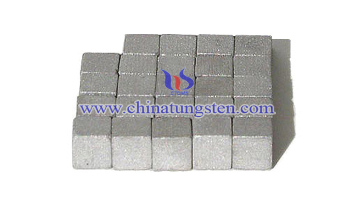 tungsten alloy cube picture
