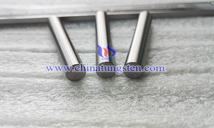 tungsten heavy alloy billet picture