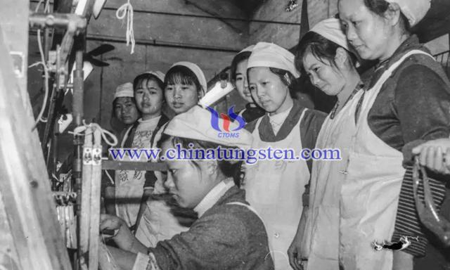 赣南纺织厂 刘念海摄