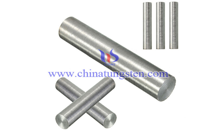 tungsten heavy alloy rod picture