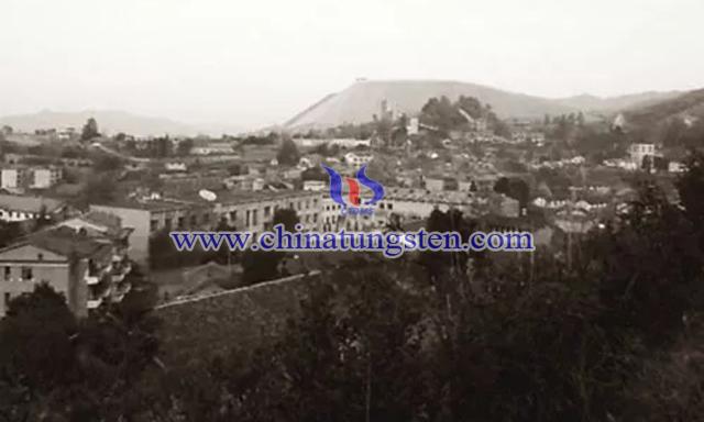 大吉山钨矿图片