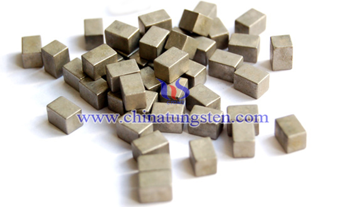 military tungsten heavy alloy cube picture
