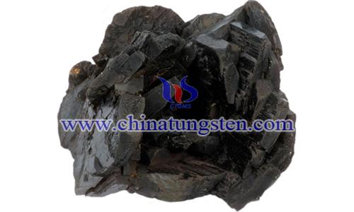 黑鎢礦圖片
