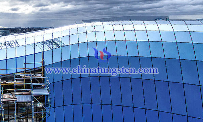 nano WO3 applied for energy saving glass coating picture