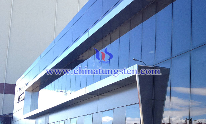 nano tungsten oxide applied for energy saving glass coating picture